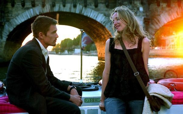 BEFORE SUNSET, Ethan Hawke, Julie Delpy, 2004, (c) Warner Brothers/courtesy Everett Collection