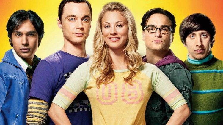 The Big Bang Theory. Vía Televisa.