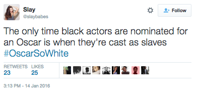 Black Actors Nominated As Slaves