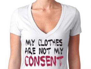 Mi vestimenta no es darte consentimiento sexual.