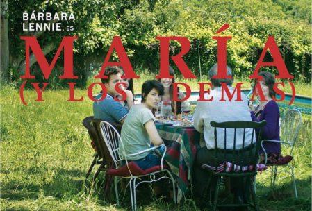 """Cartel promocional de la película """"María (y los demás)"""""""