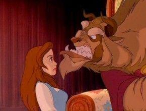 La Bella y la Bestia se pelean