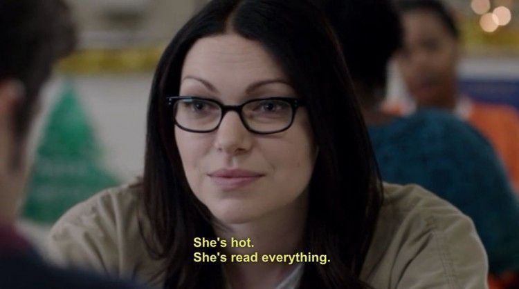 She's hot she's read everything