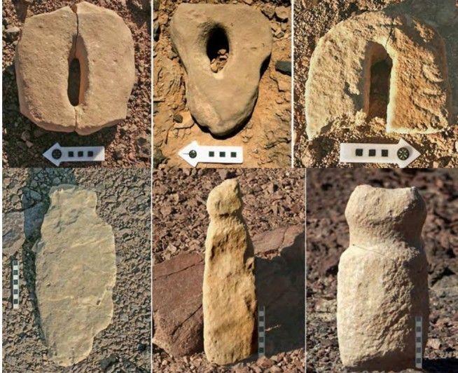 Restos arqueológicos sexuales