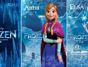 Póster de Anna y Elsa - Frozen
