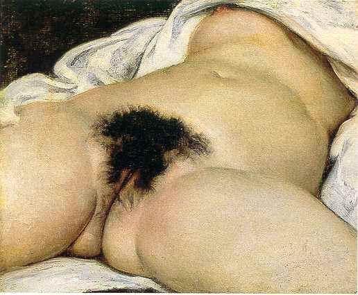 El origen del mundo, de Courbet