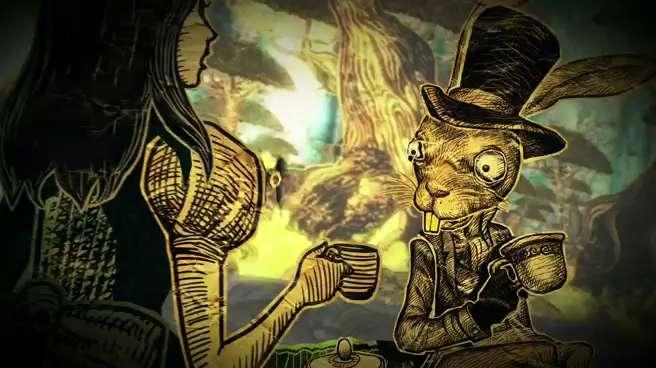 Fragmento del videojuego Alice: madness returns