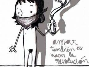 Ilustración Joan Turu Amor Revolución No-Monogamia Anarquia relacional Poliamor Feminismo