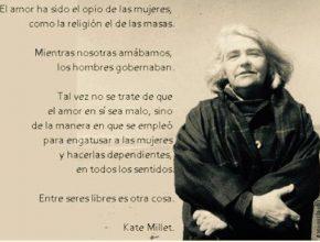 Frase de Kate Millet