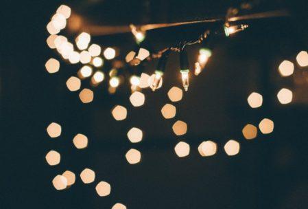 Imagen de luces tipo bokeh